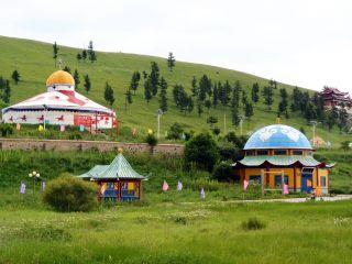 蒙古大营外景